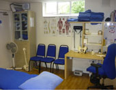 Osteopathic treatment room